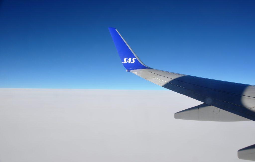 vliegen naar Zweden