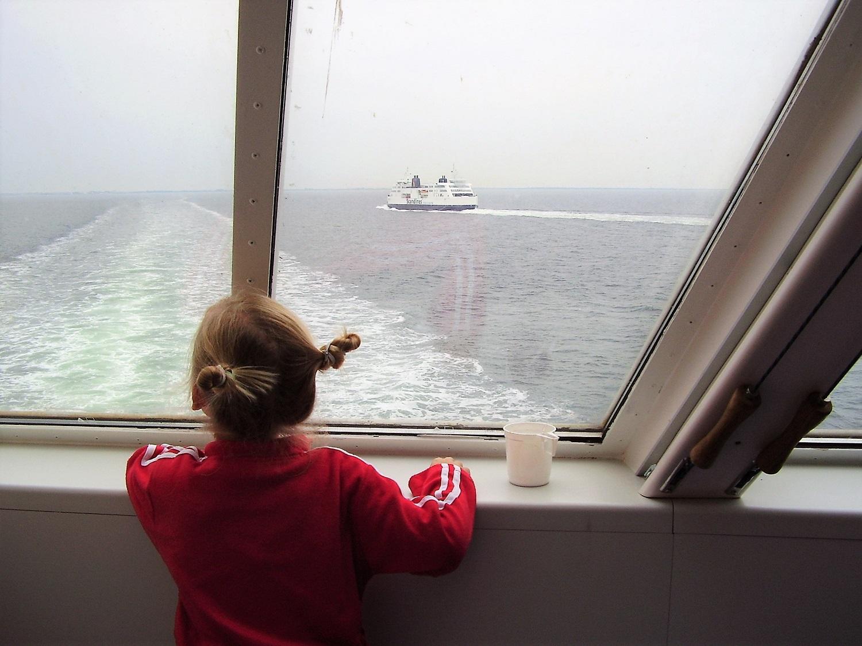 boot naar zweden