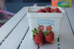Zweedse aardbeien