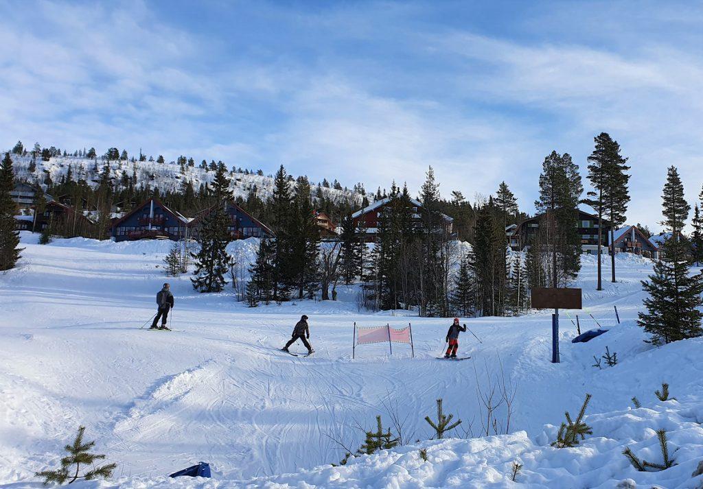 wintersport idre fjall