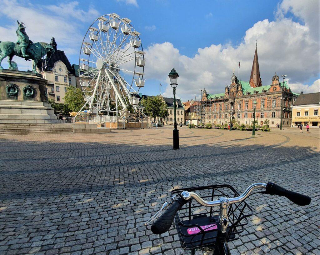 fietsen in Malmo