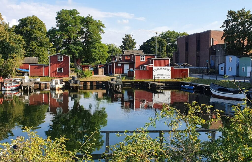 vissershuisjes in Malmo