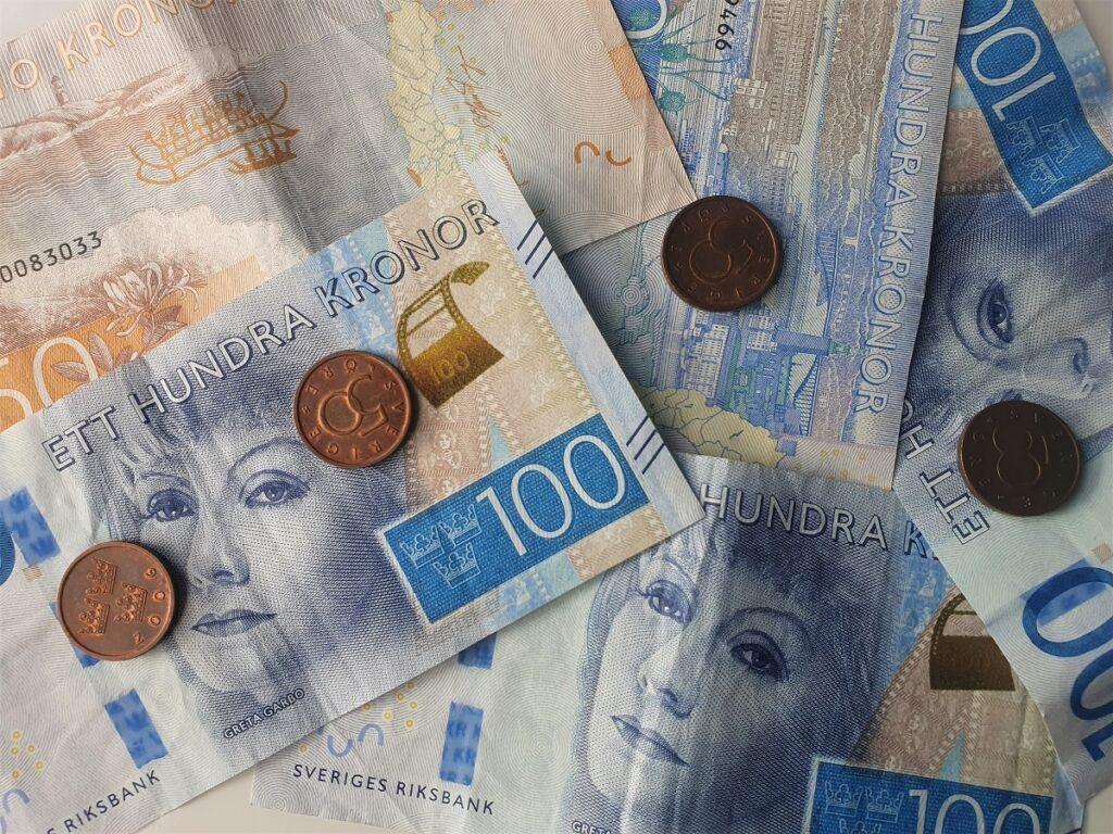 contant geld zweden